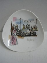 Antique Dish or ashtray in porcelain Thomas made in Germany - $15.35