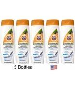 5 X Arm & Hammer Essentials Body Wash Clear Water W/Baking Soda 12 oz each - $18.76