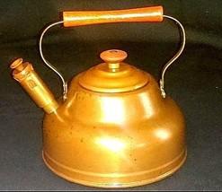 Copper Tea Pot  AB 552 Vintage image 2