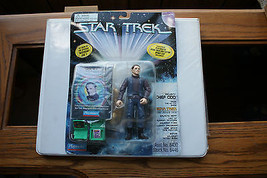 Old Vintage 1996 Star Trek Playmates Deep Space Nine Action Figure Box Chief Odo - $9.99