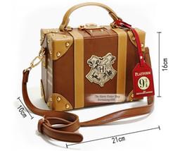 Harry Potter Hogwarts Magic Travel Box Cross Body Student Shoulder Bag H... - $46.99