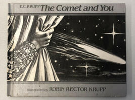 """Book E.C. KRUPP """"The Comet And You 1985 Weekly Reader Rare Book Halleys ... - $46.74"""