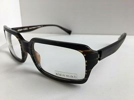 New Vintage ALAIN MIKLI AL 1028 0002 57mm Brown Eyeglasses Frame - $349.99