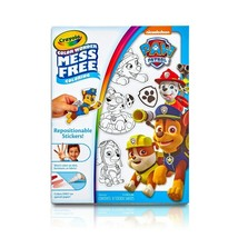 Crayola Color Paw Patrol Wonder Repositionable Stickers, 8 Sheets To Color - $8.90