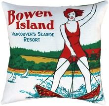 Pillow Decor - Bowen Island Outdoor Throw Pillow - $79.95