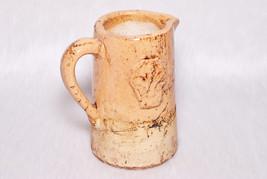 Vintage Collectible Natural Stone Glaze Handmade Pitcher Beer Stein Heav... - $45.00