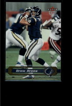 2002 FLEER ULTRA #157 DREW BREES NM-MT CHARGERS - $0.98
