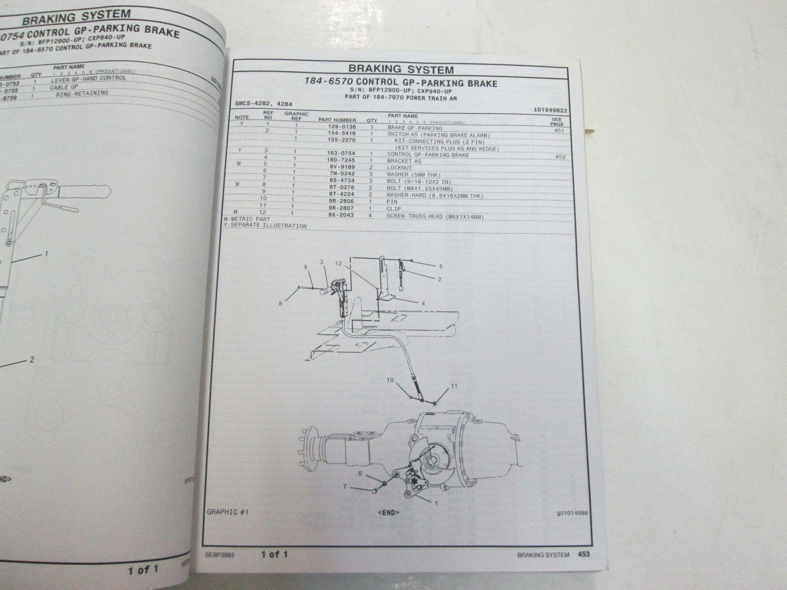 Caterpillar 416B Backhoe Loader Parts Manual and 50 similar