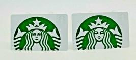 Starbucks Coffee 2015 Gift Card Siren Mermaid White Green Zero Balance S... - $12.02