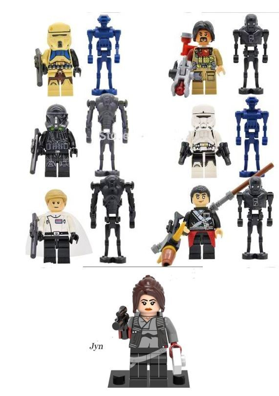 Star Wars Rogue One Minifigures - Lego Star Wars Style for sale  USA