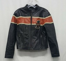 Harley Davidson Leather Jacket Womens Size Medium - $294.00