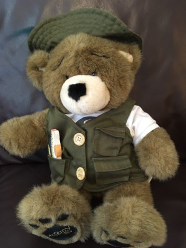bc6f2c0efb7 Build A Bear Bearemy Brown Bear 15
