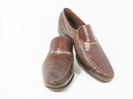 FLORSHEIM Royal Imperial Men  39 s Dress Shoes Brown Leather Slip On Loafer  10.5 0c771e61ac9