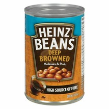 3 HEINZ Deep-Browned Beans with Pork & Molasses 398ml/14oz Canada FRESH  - $19.75