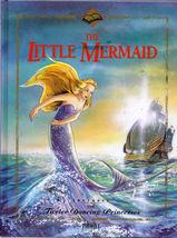The Little Mermaid & Twelve Dancing Princesses Story Book Hardcover Illu... - $4.00