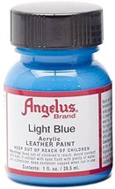 Angelus Acrylic Paints 1oz [001 - 047] Light Blue - $6.76