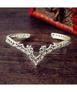 Retro Bohemian Princess Love Cuff Bracelet - $19.99