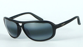 Maui Jim Breakers 288-2M Polarized Sunglasses - Matte Black/Neutral Grey - $152.96
