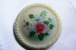 """vintage 70""""s  floral broach pin  by Avon - $11.28"""