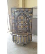 mosaic fountain .fountain length:100cm.fountain width:70cm.fountain traditonal - $4,500.00