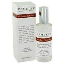 Demeter Whiskey Tobacco by Demeter Cologne Spray 4 oz for Men - $39.50