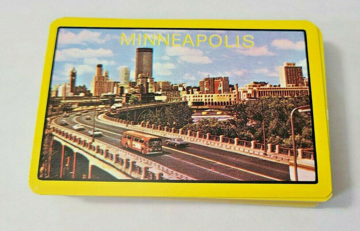 Minneapolis Souvenir Made in British Hong Kong Deck of Playing Cards   (#48)