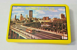 Minneapolis Souvenir Made in British Hong Kong Deck of Playing Cards   (#48) image 1