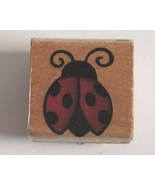 """Ladybug Mounted Rubber Stamp by Stampcraft 1 1/2"""" x 1 1/2"""" - $5.19"""