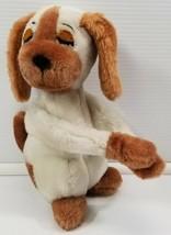 N) Vintage 1976 R. Dakin Sleeping Hugging Puppy Dog Stuffed Animal Plush... - $9.89