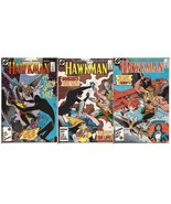 DC Hawkman Lot #2-4 The Shadow Thief Zatanna Hawkgirl Action Adventure M... - $4.50