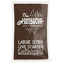 The Kombucha Company Large Kombucha SCOBY |16 Ounce Bottle of Strong Liv... - $39.72