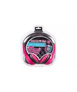 Monster High 30348 Kid-Safe Volume Limiting Over the Ear Headphones - $19.79