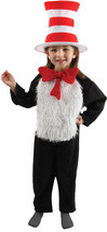 "Toddler's Deluxe Size 4-6 Dr Suess's ""Cat in the Hat"" Costume by Elope™ - $59.84"