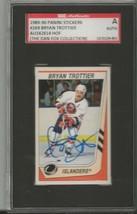 Bryan Trottier 1988 Panini Stickers Autograph #269 SGC Islanders - $55.98
