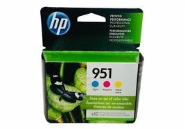 951 Combo HP Printer Ink nib box printer cartridge inkjet cyan magenta yellow  - $38.65