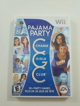 Charm Girls Club Pajama Party Wii - $5.22
