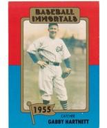 1980 Baseball Immortals Gabby Hartnett - $0.00