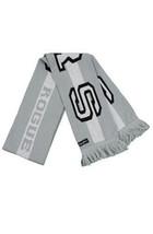 DTA Rogue Status USTFU RS Grey/Black Acrylic Soccer Winter Scarf NWT