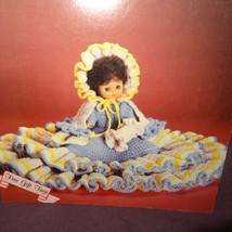 Eva Bed Doll Pattern Sweet Dreams Dumplin Designs Crochet 1987 BD510 Boo... - $9.99