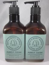 2 Bath & Body Works Hand Soap 10 oz  Purely Clean  Eucalyptus - $39.99