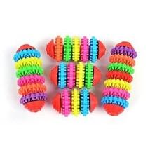 Pet Dog Puppy Rubber Toys Dental Teeth Chew Bone Play Training Fetch Fun Toy XP - $6.68