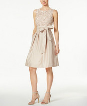 Jessica Howard Embroidered Sash Fit & Flare Dress  size 8 MSRP$109 - €26,91 EUR