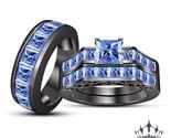 Princess cut diamond wedding ring set in 14k rose gold fdens151prangle5 nl rg e thumb155 crop