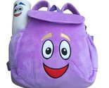 soft plush backpack rescue bag with map purple pink color birthday christmas gift thumb155 crop