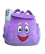 92cm Cute Dora Soft Plush Backpack Rescue Bag With Map Purple Pink Color... - $14.90