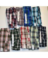 Boys Toughskins Plaid Shorts Various Sizes & Colors NWT 18M,24M,2T,3T - $7.99