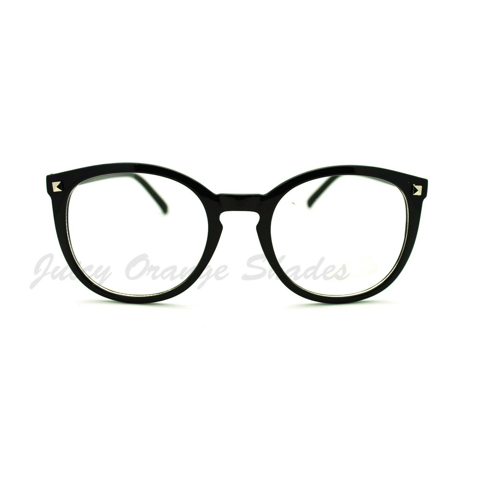 Women's Fashion Glasses Cute Round Clear Lens Eyeglasses