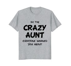 Funny Shirts - Crazy Aunt Funny T-Shirt Men - $19.95+