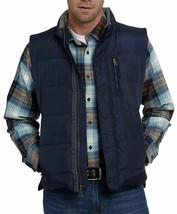 Orvis Down Puffer Vest Full Zipper Jacket Navy Blue Mens Size Medium NWT image 1