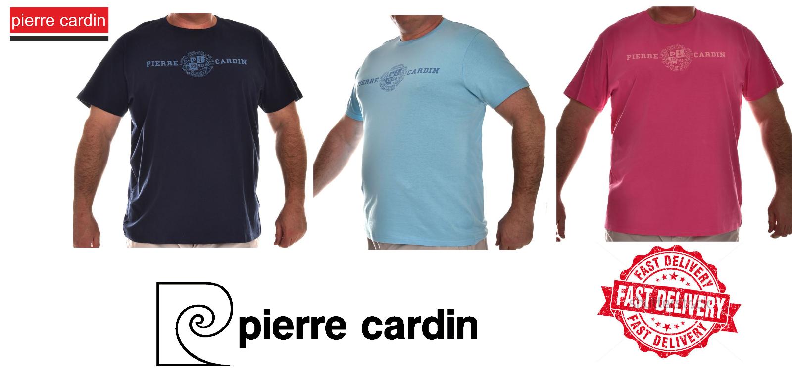 Pierre Cardin XL Pastel T Shirt Mens Big Size T-Shirt 3XL 4XL - $9.99